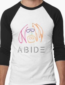 The Dude Abides: Imagine Men's Baseball ¾ T-Shirt