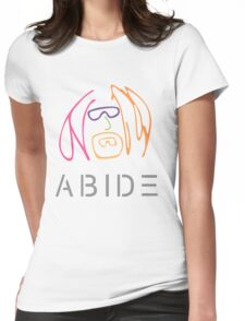 The Dude Abides: Imagine Womens Fitted T-Shirt