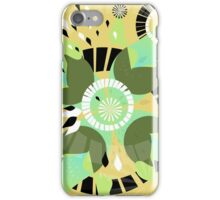 Imploding Pedals iPhone Case/Skin