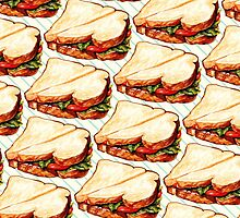 Lunch Room Sandwich Pattern by Kelly  Gilleran