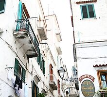 Skyscrapers of Amalfi Italy by tamarakenyon