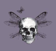 Skulls, wings and butterflies by Stuart Stolzenberg
