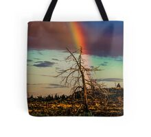 Rainbows-n-old Juniper Tote Bag