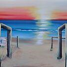 """Red Sunset"" by Taniakay"