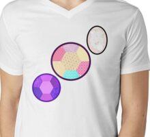 Opal: Fusion Mens V-Neck T-Shirt