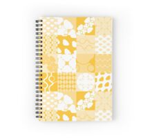 TILES [ yellow & white ] Spiral Notebook