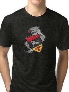 Dark Ages Bloodline Shield: Anda Tri-blend T-Shirt