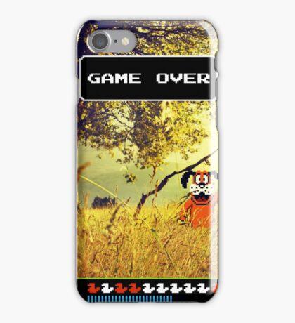Duck Hunt pixel art iPhone Case/Skin