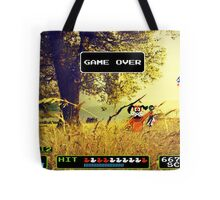 Duck Hunt pixel art Tote Bag