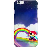 Rainbow Islands retro pixel art iPhone Case/Skin