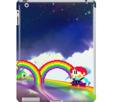 Rainbow Islands retro pixel art iPad Case/Skin