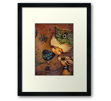 Flower of Antiquity - Love Framed Print
