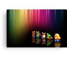 New Zealand Story pixel art Canvas Print
