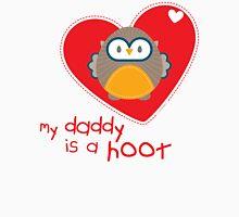 OWL SERIES :: heart - daddy is a hoot 1 Unisex T-Shirt
