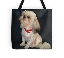 The Red Collar Tote Bag