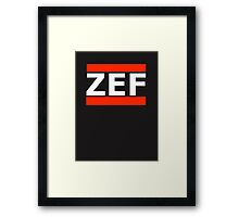 ZEF Framed Print
