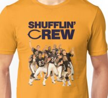 Chicago Bears Super Bowl Shufflin' Crew (Dark Text) Unisex T-Shirt