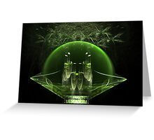 Emerald City Greeting Card