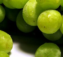 Frozen Grapes by Cleber Photography Design