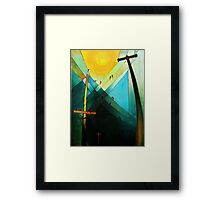 Earth Bound Power #7 (The Son is Risen) Framed Print