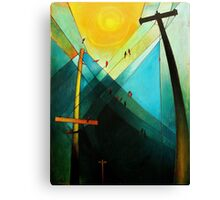 Earth Bound Power #7 (The Son is Risen) Canvas Print