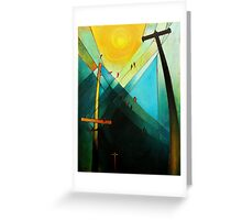 Earth Bound Power #7 (The Son is Risen) Greeting Card