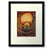 Flower of Antiquity - Hope Framed Print
