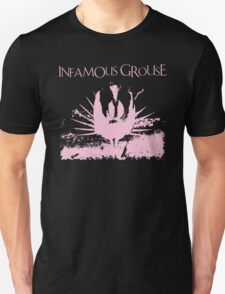 Infamous Grouse Half Basted artwork T-Shirt