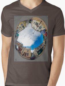 Kilcar Crossroads - Sky in Mens V-Neck T-Shirt