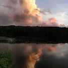 Rock Cut Sunset. by Erik Anderson