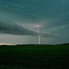 High Voltage - Alberta Skies by Roxanne Persson