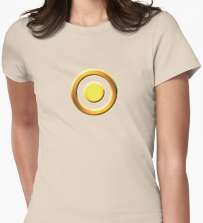 Exalted Solar Caste: Eclipse Womens Fitted T-Shirt