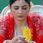 An Indian Bride. Brisbane, Queensland, Australia. by Ralph de Zilva