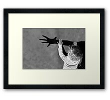 Catch My Shadow! Framed Print