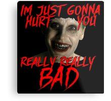 The Joker Suicide Squad - Jared Leto Metal Print