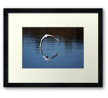 An Almost Perfect Arc Framed Print