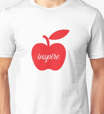 Teachers Inspire Unisex T-Shirt