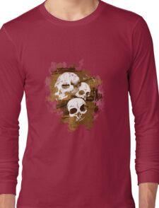 3Skulls Long Sleeve T-Shirt