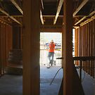 From Inside the Framing of a 3 Bedroom House! by heatherfriedman