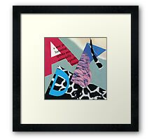 Animal Dominos Framed Print