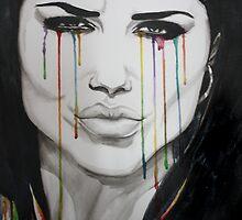 rainbow tears by KathrinSh
