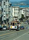 Cable Car and Alcatraz by Tim Topping