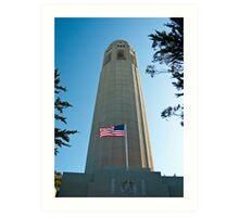 Coit Tower, San Francisco Art Print
