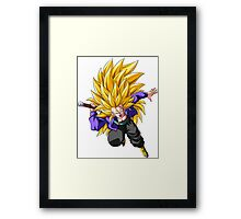 Trunks Super Saiyan 3 - Dragon Ball Z Framed Print