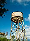 Alcatraz Water Tower by Tim Topping