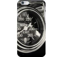 Gauge of Black and Steel iPhone Case/Skin