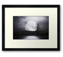When Night Is Falling Framed Print