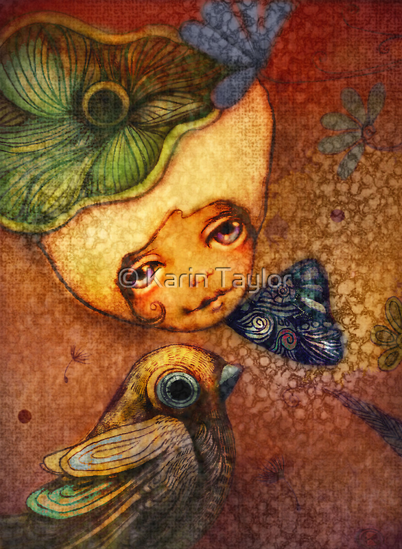 Flower of Antiquity - Faith by © Karin (Cassidy) Taylor