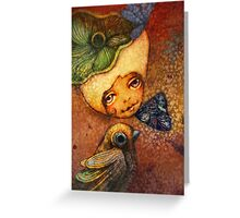 Flower of Antiquity - Faith Greeting Card