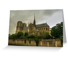 Notre Dame, Paris Greeting Card
